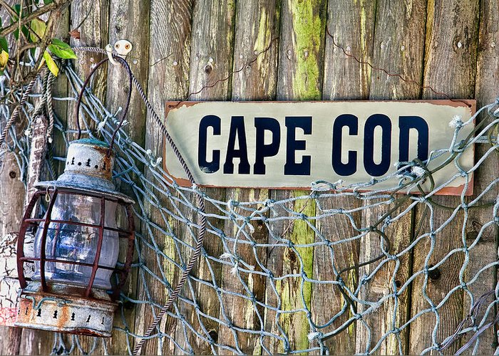 Bouy Greeting Card featuring the photograph Rustic Cape Cod by Bill Wakeley