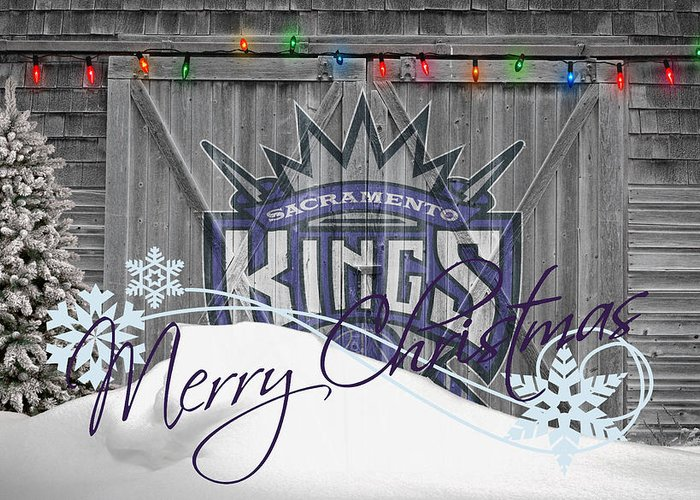 Kings Greeting Card featuring the photograph Sacramento Kings by Joe Hamilton