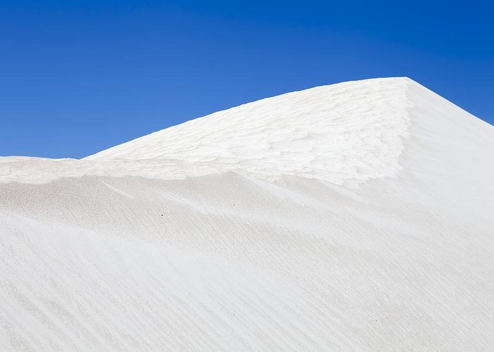 Dunes Greeting Card featuring the photograph Sand Dunes by Science Photo Library