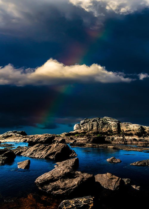 Rainbow Greeting Card featuring the photograph Secret Place II by Bob Orsillo