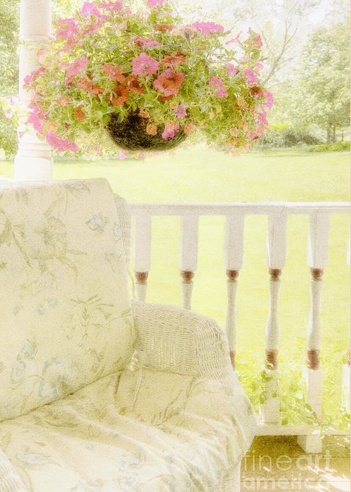 House Greeting Card featuring the photograph Serenity by Margie Hurwich