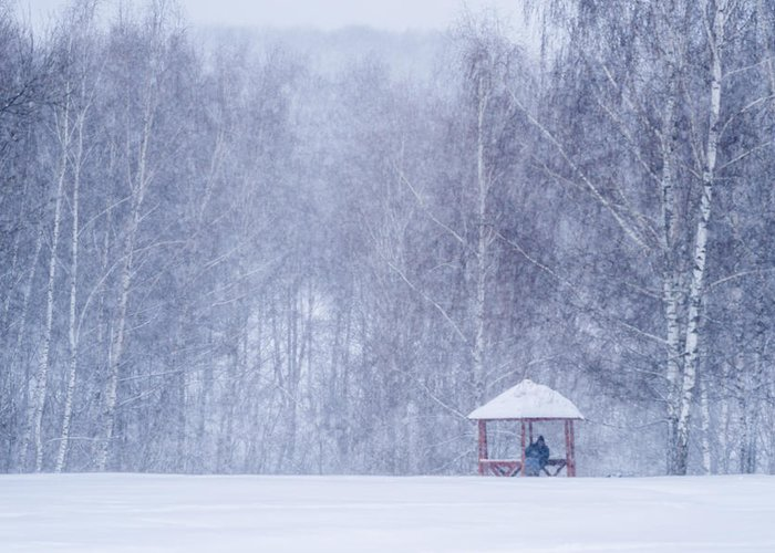 Alcove Greeting Card featuring the photograph Shelter In The Storm - Featured 3 by Alexander Senin