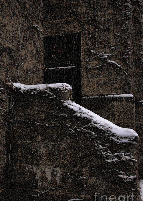 Door Greeting Card featuring the photograph Side Door by Jasna Buncic