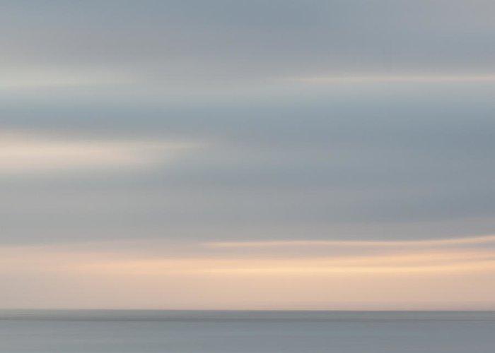 La Jolla Greeting Card featuring the photograph Soft Sunset La Jolla by Carol Leigh