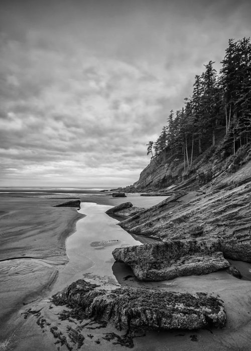 Vertical Greeting Card featuring the photograph Soul Without Color by Jon Glaser