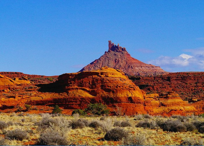 Mountains Greeting Card featuring the photograph Southern Utah by Jeff Swan