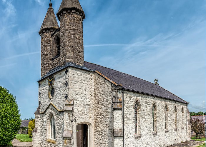 Betws Yn Rhos Greeting Card featuring the photograph St Michael Church by Adrian Evans