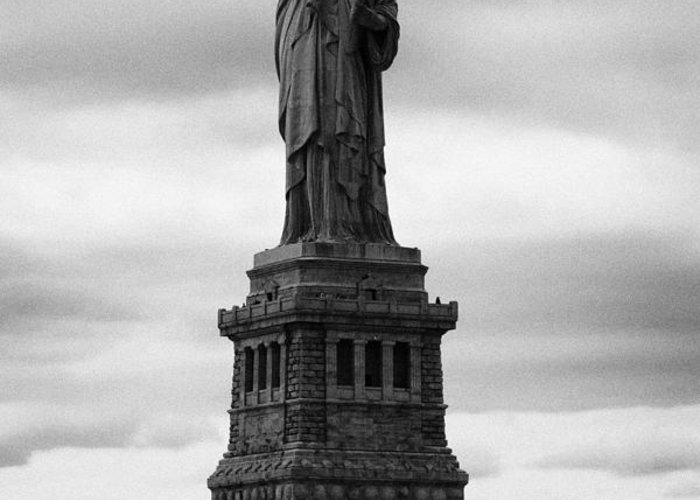 Usa Greeting Card featuring the photograph Statue Of Liberty National Monument Liberty Island New York City by Joe Fox