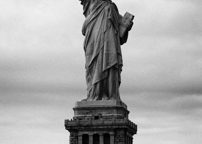 Usa Greeting Card featuring the photograph Statue Of Liberty National Monument Liberty Island New York City Usa Nyc by Joe Fox