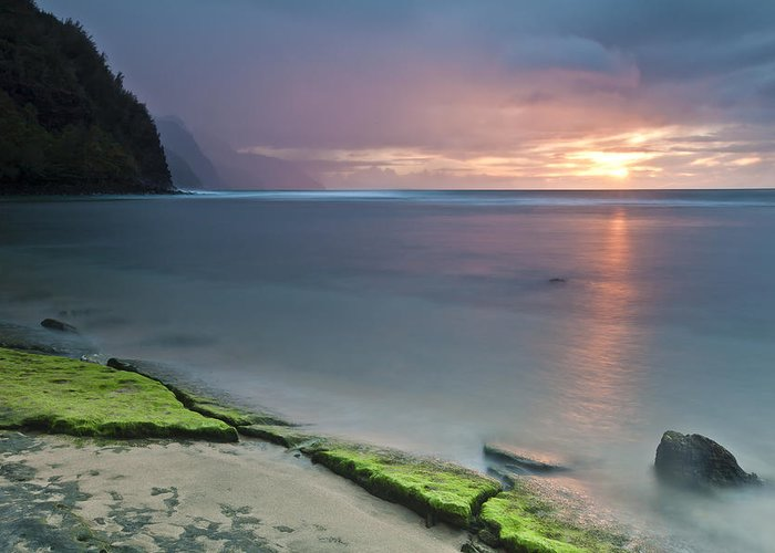 Horizontal Greeting Card featuring the photograph Stillness by Jon Glaser