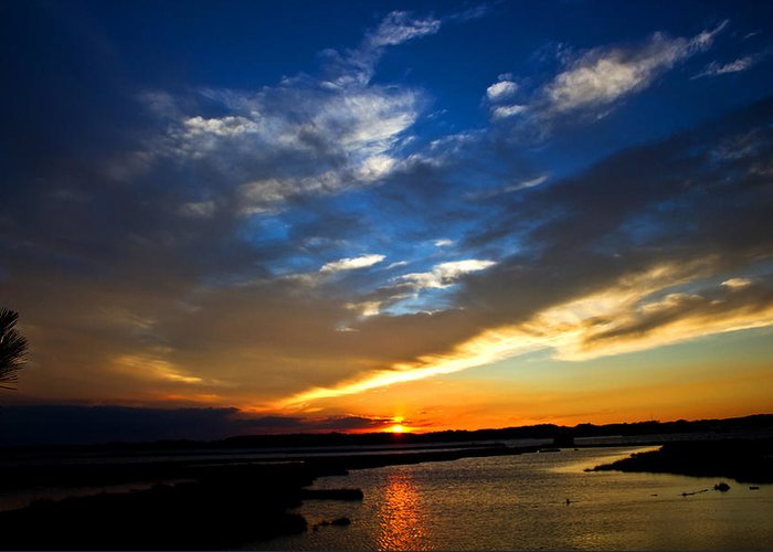 Photography Greeting Card featuring the photograph Sunset by Tim Buisman