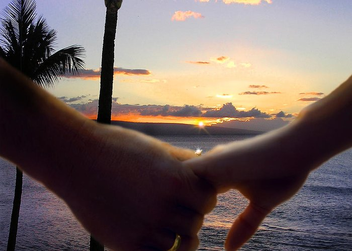 Take My Hand By Doug Kreuger Greeting Card featuring the photograph Take My Hand by Doug Kreuger