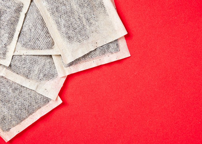 Anti-oxidant Greeting Card featuring the photograph Tea Bags by Tom Gowanlock
