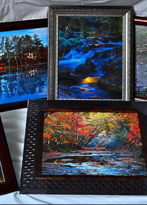 Collector Greeting Card featuring the photograph The Art Collector by Frozen in Time Fine Art Photography