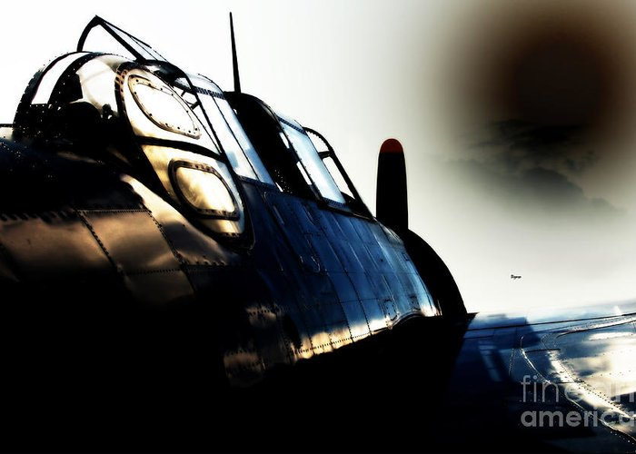 Military Aircraft Greeting Card featuring the photograph The Avenger by Steven Digman