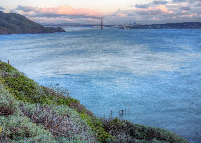 Bonita Point Greeting Card featuring the photograph The Bridge by JC Findley