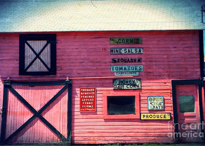 Grocery Greeting Card featuring the photograph The Grocery Store by Sophie Vigneault