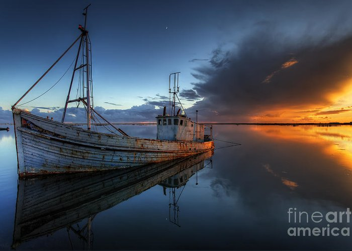 Guiding Light Greeting Card featuring the photograph The Guiding Light by English Landscapes