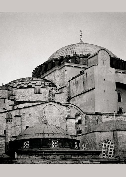 Hagia Sophia Greeting Card featuring the photograph The Hagia Sophia by Shaun Higson
