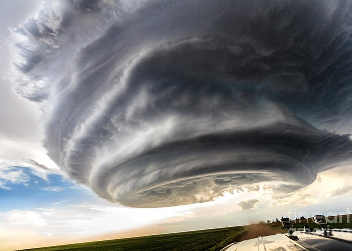 Storm Greeting Card featuring the photograph The Independence Day by Marko Korosec