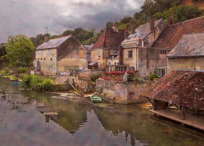 Austria Greeting Card featuring the photograph The Loir River by Debra and Dave Vanderlaan