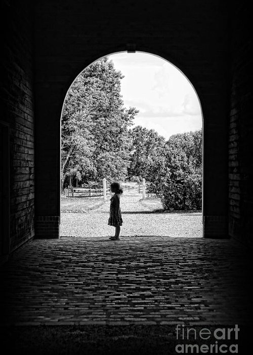 Daughter Greeting Card featuring the photograph The Path Of Childhood Memories by Lee Dos Santos