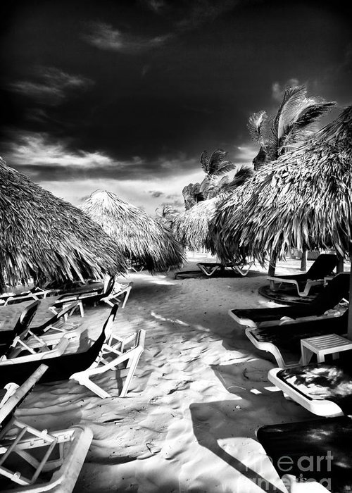 Tiki Zone Greeting Card featuring the photograph Tiki Zone by John Rizzuto