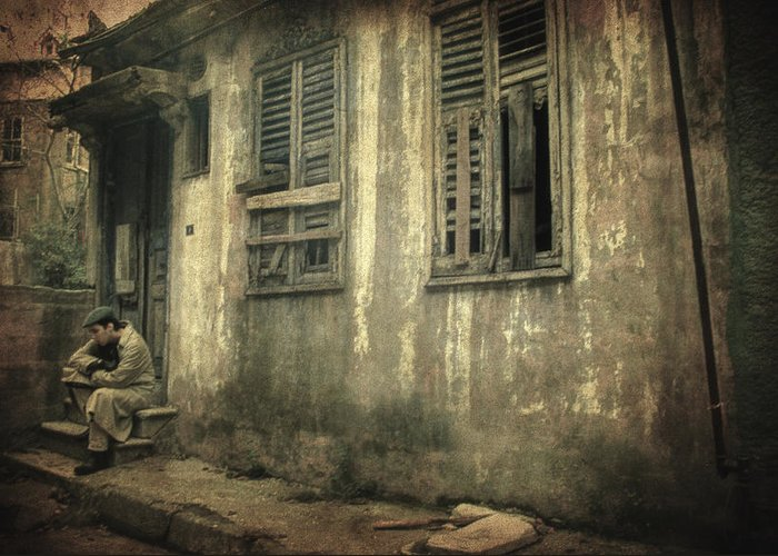 Old House Greeting Card featuring the photograph Time Beyond Time by Taylan Soyturk