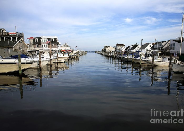 To The Sea At Lbi Greeting Card featuring the photograph To The Sea At Lbi by John Rizzuto