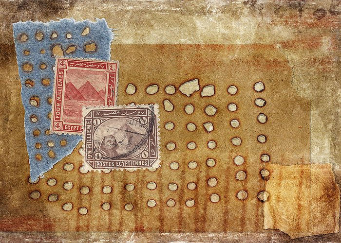 Texture Greeting Card featuring the photograph Torn And Burned by Carol Leigh