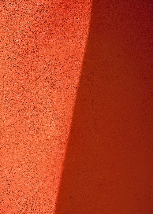 Abstract Greeting Card featuring the photograph Two Shades Of Shade by Peter Tellone