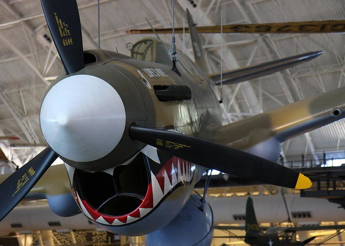 Udvar Greeting Card featuring the photograph Udvar-hazy Center - Smithsonian National Air And Space Museum Annex - 12124 by DC Photographer