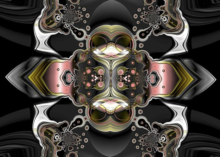 Digital Greeting Card featuring the digital art Uncertain Committments by Claude McCoy