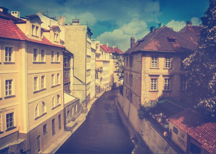 Prague Greeting Card featuring the photograph Venice In Prague by Taylan Soyturk