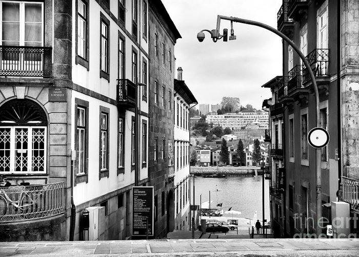 View Across The Douro Greeting Card featuring the photograph View Across The Douro by John Rizzuto