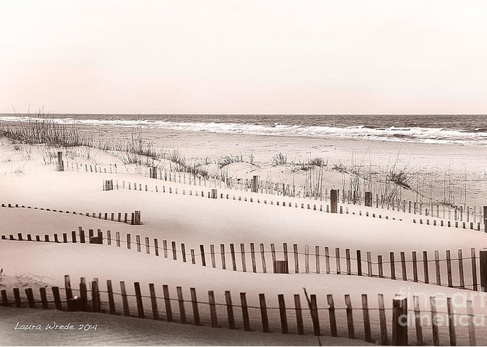 Virgina Beach Vacation Memories Greeting Card featuring the photograph Virgina Beach Vacation Memories by Artist and Photographer Laura Wrede