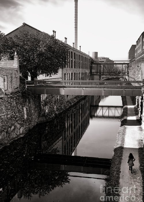 Georgetown Greeting Card featuring the photograph Walking Along The C And O by Olivier Le Queinec