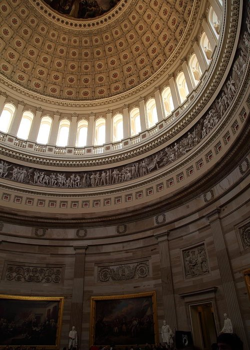 America Greeting Card featuring the photograph Washington Dc - Us Capitol - 011311 by DC Photographer