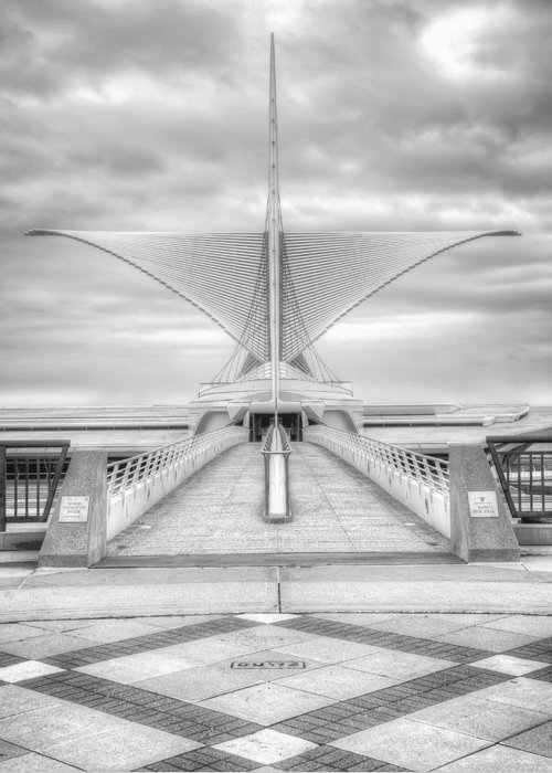 Milwaukee Greeting Card featuring the photograph Wing Span by Scott Norris