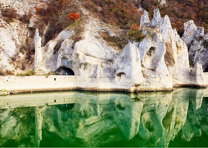Lake Greeting Card featuring the photograph Wonderful Rocks by Evgeni Dinev