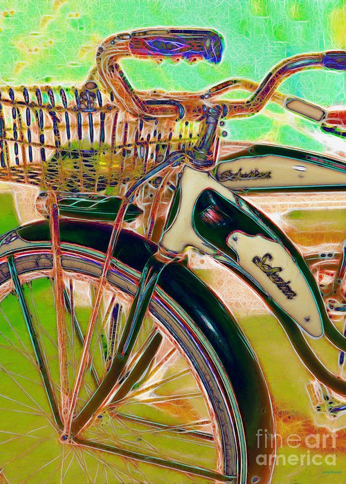 Transportation Greeting Card featuring the photograph Yesterday It Seemed Life Was So Wonderful 5d25760 Vertical M168 by Wingsdomain Art and Photography