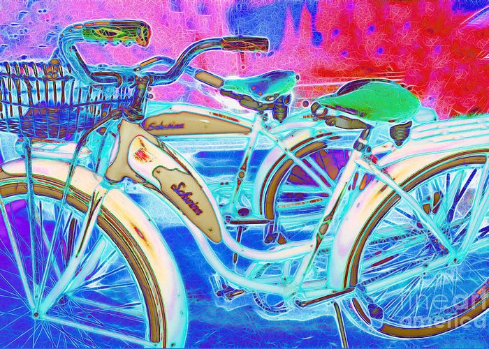 Transportation Greeting Card featuring the photograph Yesterday It Seemed Life Was So Wonderful 5d25760 by Wingsdomain Art and Photography