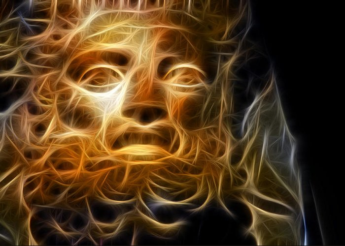 Zeus Greeting Card featuring the photograph Zeus by Taylan Soyturk