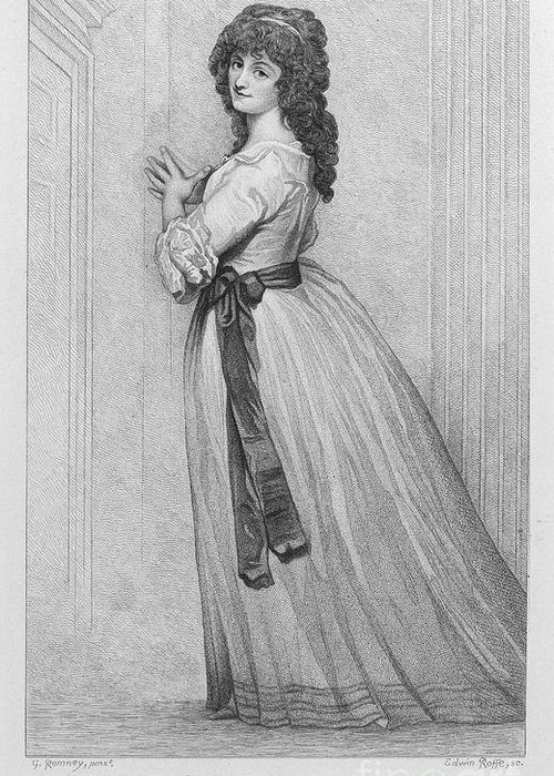 1788 Greeting Card featuring the photograph Dorothy Bland Jordan by Granger
