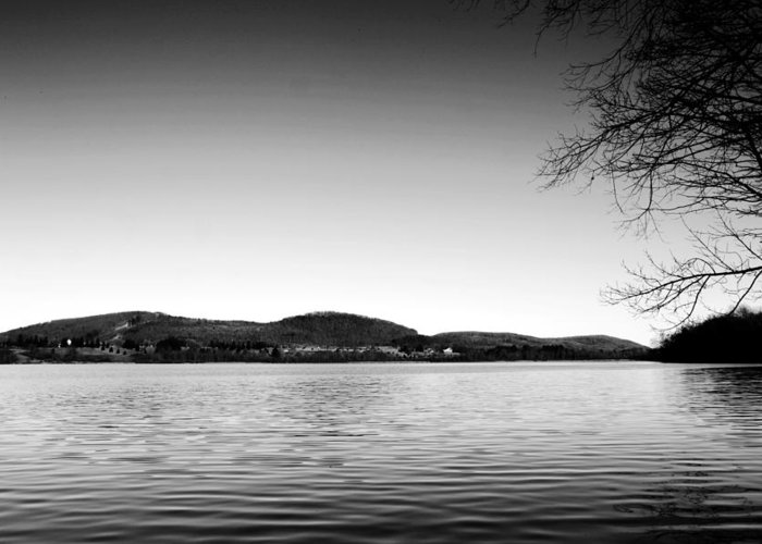 Dryden Greeting Card featuring the photograph Dryden Lake New York by Paul Ge
