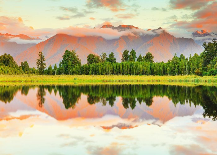 Matheson Greeting Card featuring the photograph Matheson Lake by MotHaiBaPhoto Prints