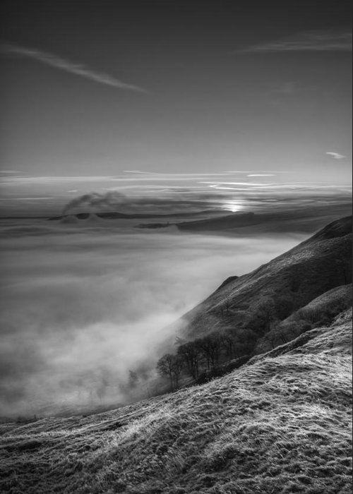 Castleton Greeting Card featuring the photograph Peak District Sunrise by Andy Astbury