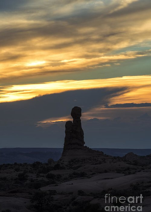 Southwest Greeting Card featuring the photograph Standing Tall by Sandra Bronstein