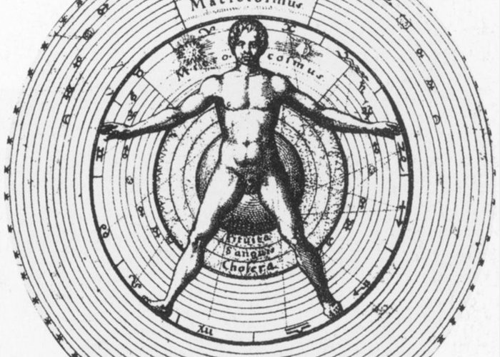 Science Greeting Card featuring the photograph Utrisque Cosmi, Title Page, 1617 by Science Source
