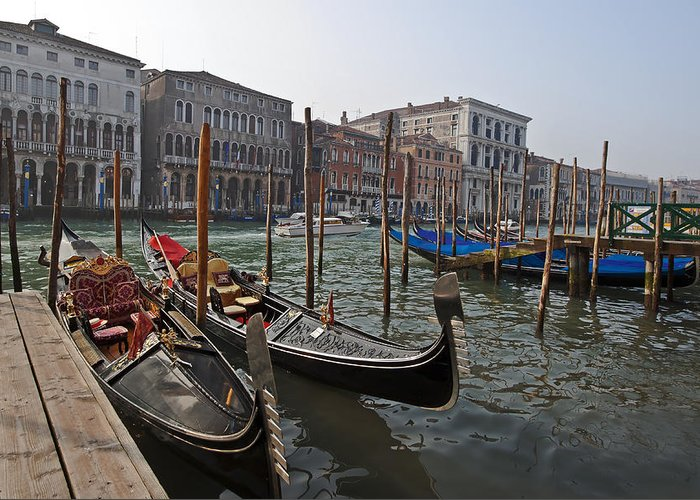 Architecture Greeting Card featuring the photograph Venice - Italy by Joana Kruse